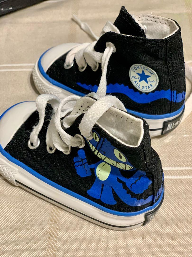 Brand new Converse high top infant boys shoes sz 3