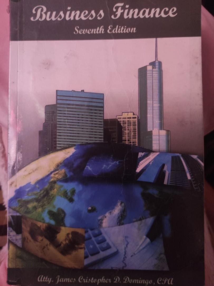 Business Finance 7th edition by Atty. James Cristopher D. Domingo / JCD