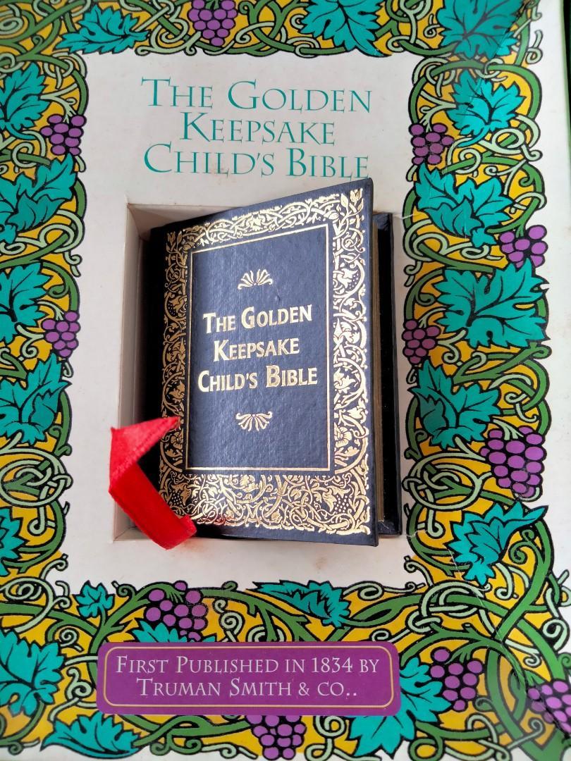 Children's Bible Miniature Size Antique Replica