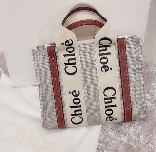 Chloe woody bag small