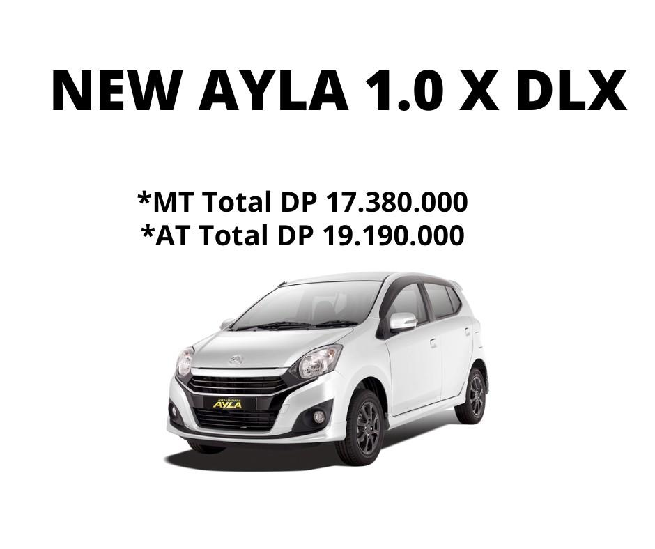 Daihatsu Ayla 1.0 X Deluxe 2021