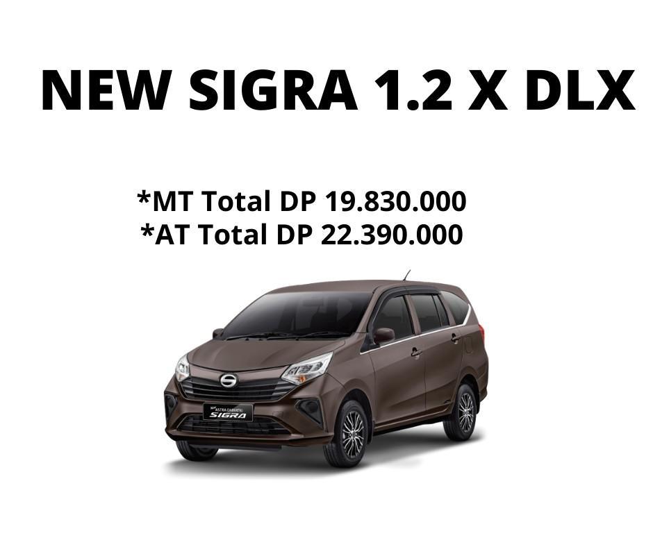 Daihatsu Sigra 1.2 X Deluxe 2021