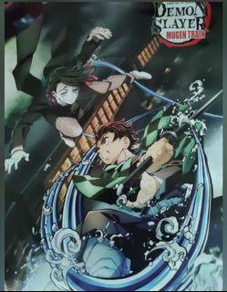 "Anime Demon Slayer Kimetsu no Yaiba Characters 16 1//2/""in x 11.25/""in Posters"