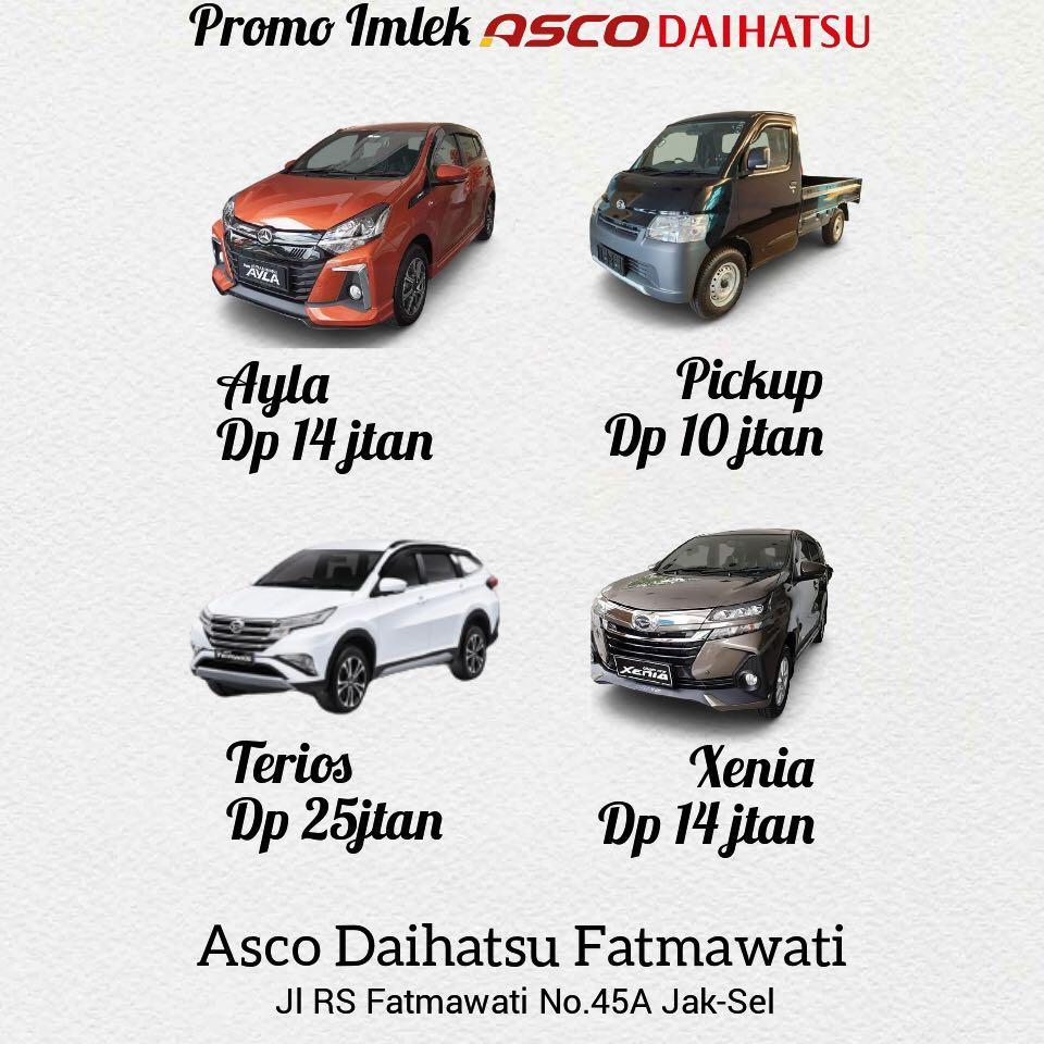 DP MURAH Daihatsu Luxio mulai 20 jutaan. Daihatsu Fatmawati