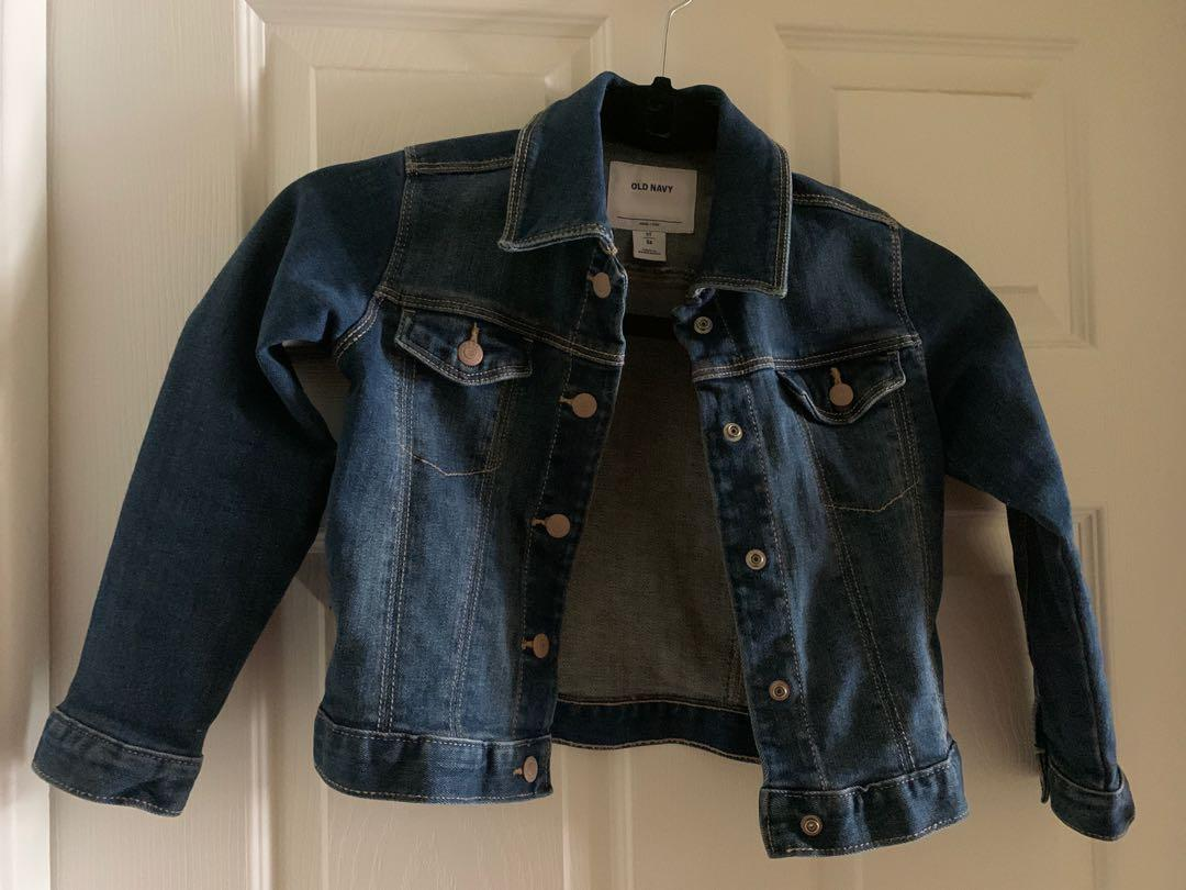 EUC size 5 kids jean jacket
