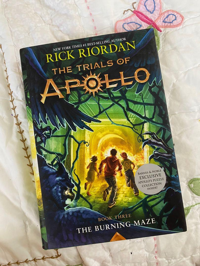 The Burning Maze by Rick Riordan (The Trials of Apollo Book 3)