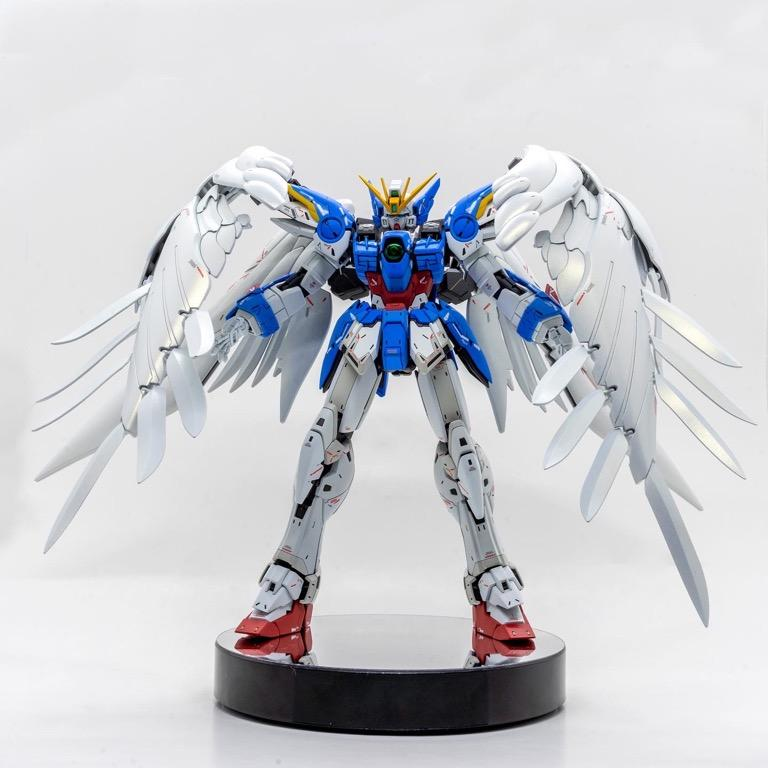 Fully custom build and paint MG wing zero Ver.Ka
