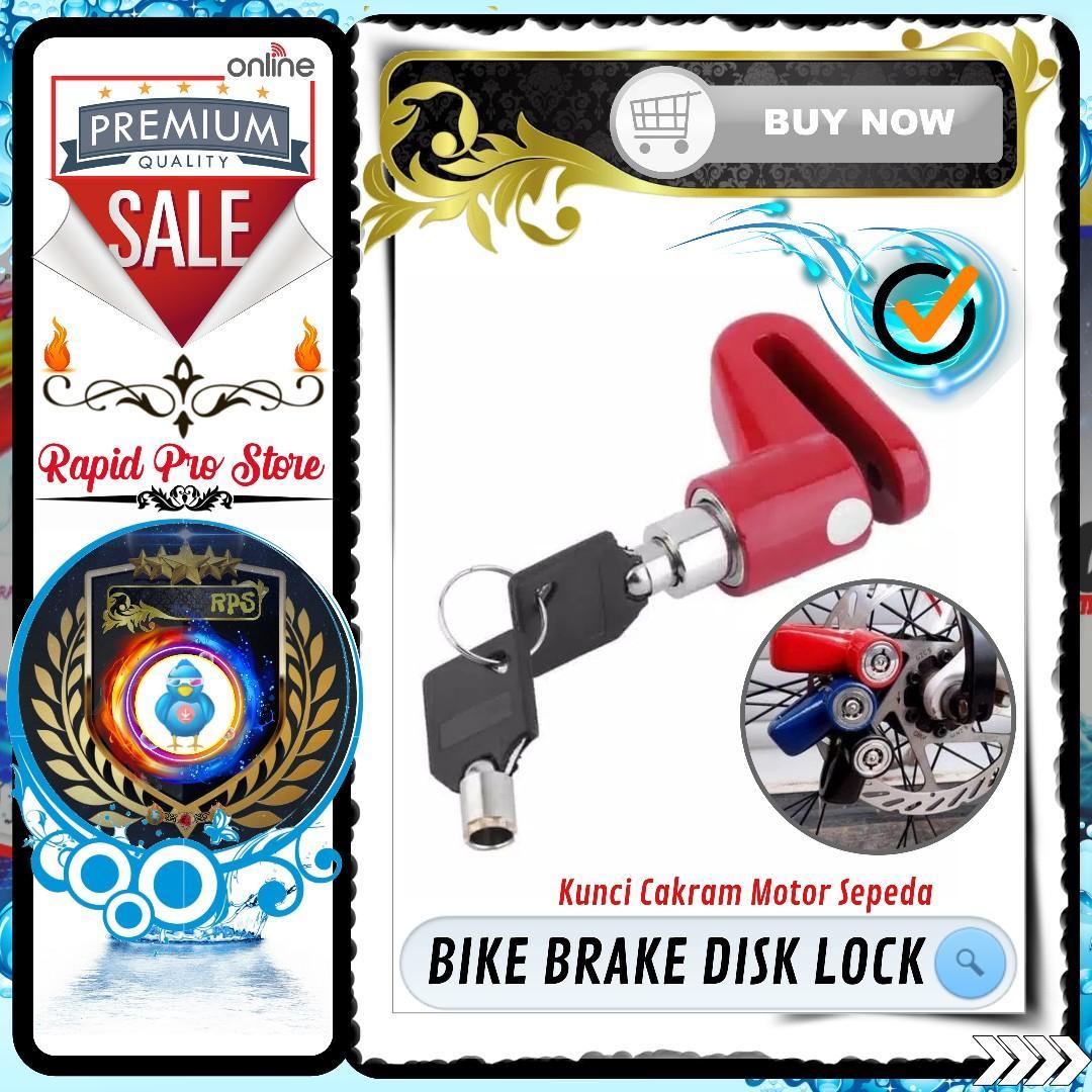 Gembok Kunci Cakram Motor dan Sepeda
