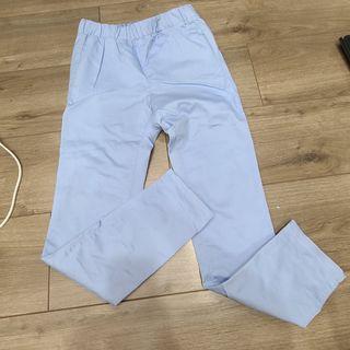 GU 藍色長褲