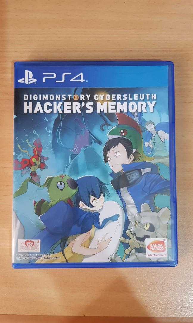 JUAL PS4 DIGIMON STORY CYBER SLEUTH HACKERS MEMORY