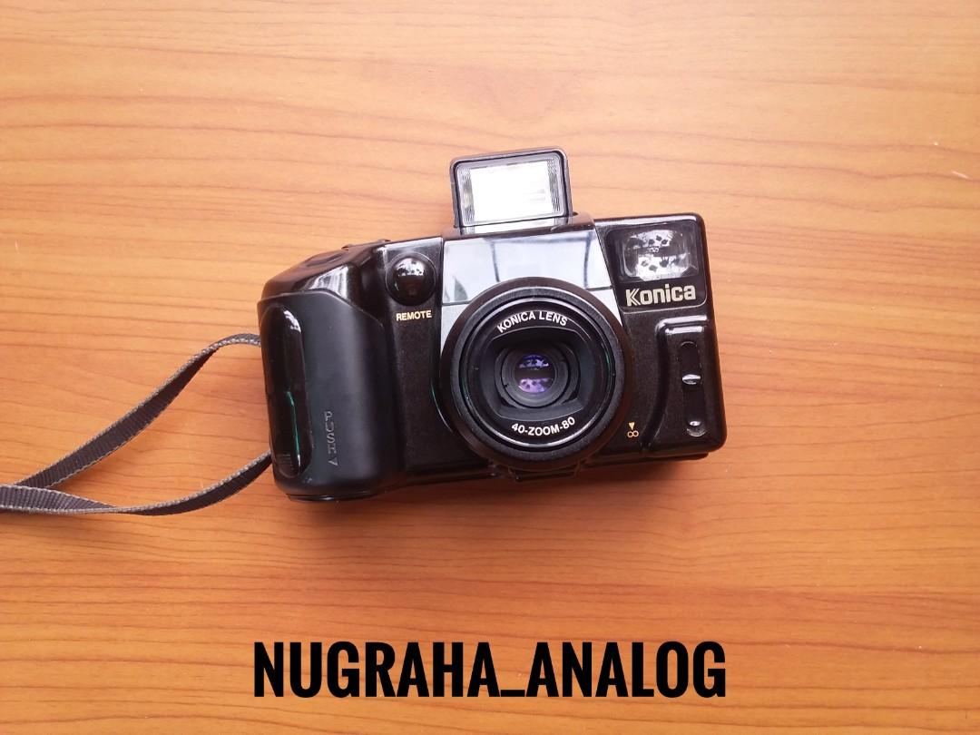 Kamera Analog Konica Z-Up 80 RC Super Zoom