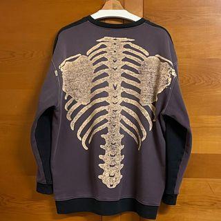 Kapital printed loopback sweatshirt  骷髏 水洗 2tone 衛衣