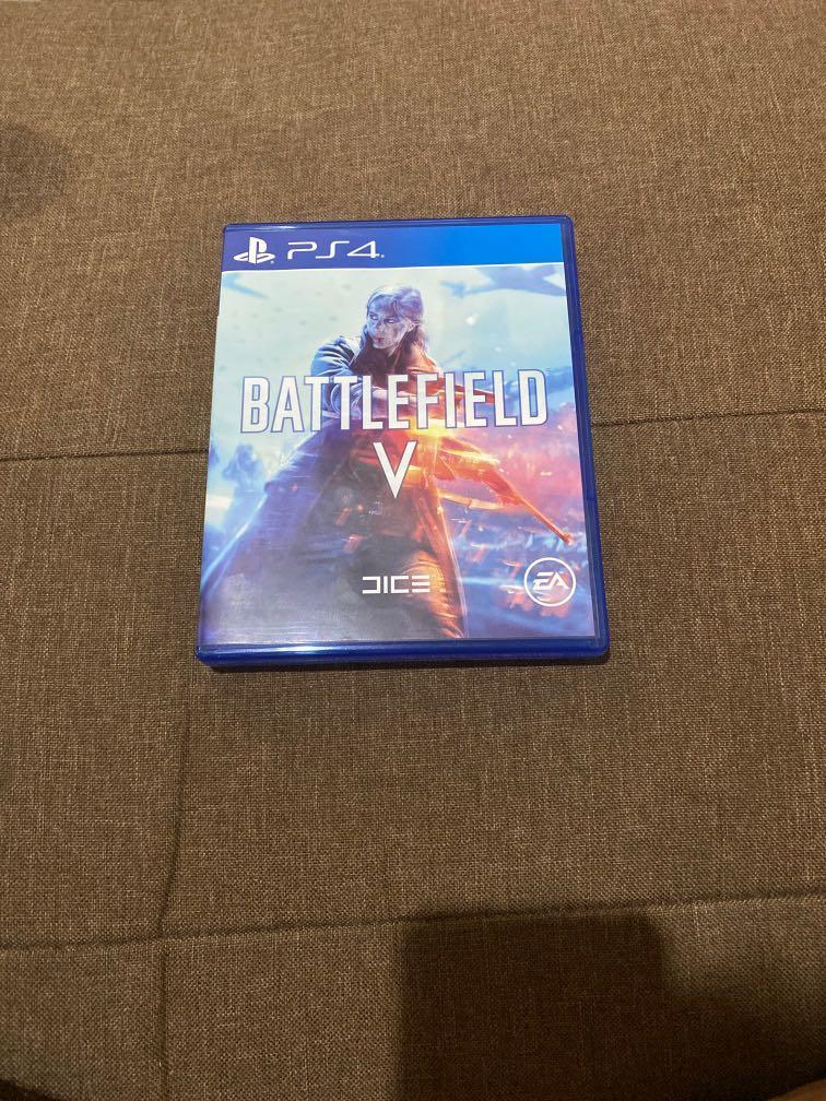 Kaset PS 4 - Battlefield V