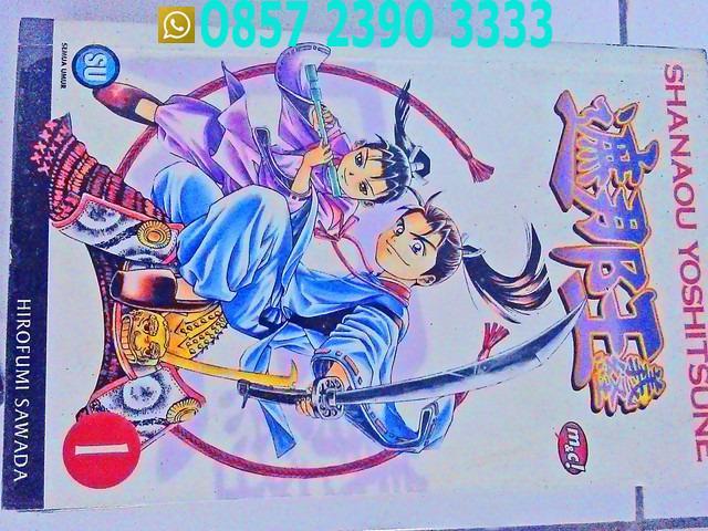 Komik Shanaou Yoshitsune ZQJ9611