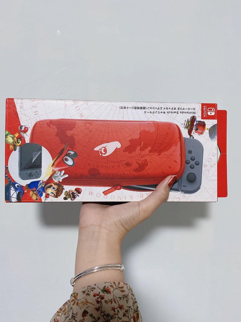Nintendo Switch 超級瑪利歐收納包 (含保護貼)
