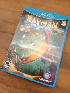Nintendo Wii U Rayman Legends Video Game (READ DESCRIPTION PLEASE)