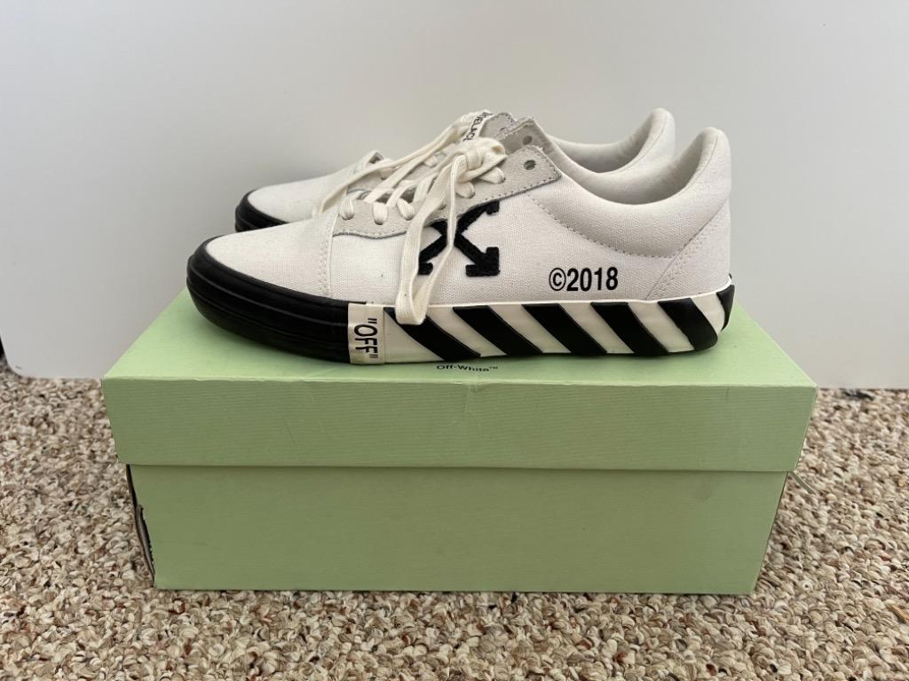 Off-White Vulc Low