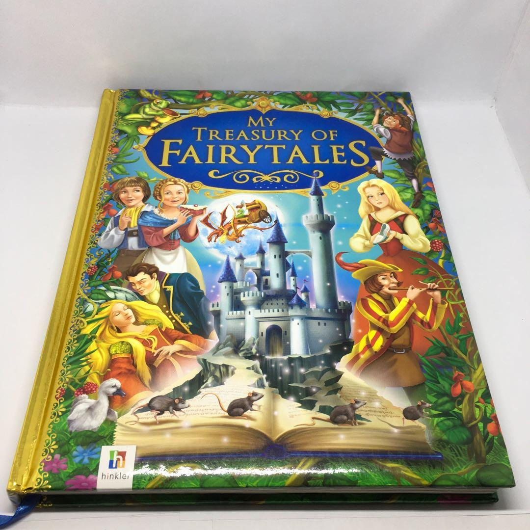 Original My Treasury Of Fairytales Princess Hardcover Book