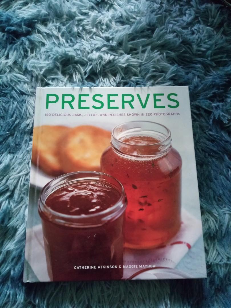 PRESERVE RECIPE BOOK