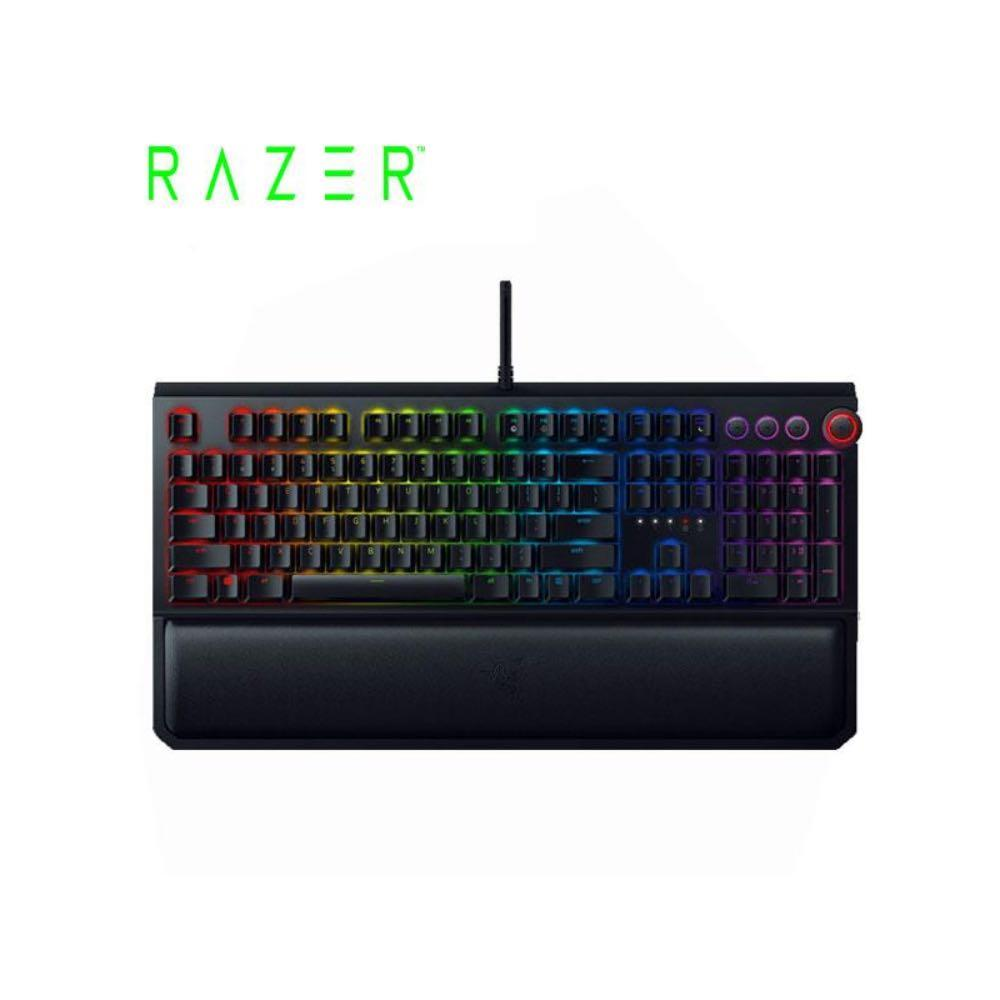 Razer 雷蛇 BlackWidow Elite黑寡婦蜘蛛機械式鍵盤 綠軸 中文