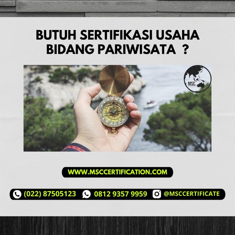 sertifikat usaha pariwisata murah