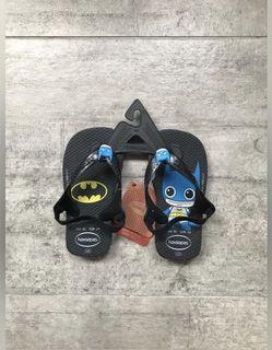 Havaianas Batman Boys Slippers Sandals