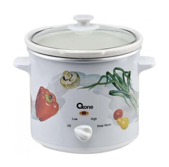Slow Cooker Oxone OX-821 R02 (kapasitas 2 liter)