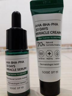 Some by mi serum & miracle cream