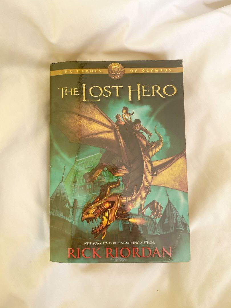 The Lost Hero (The Heroes of Olympus book one) - Rick Riordad