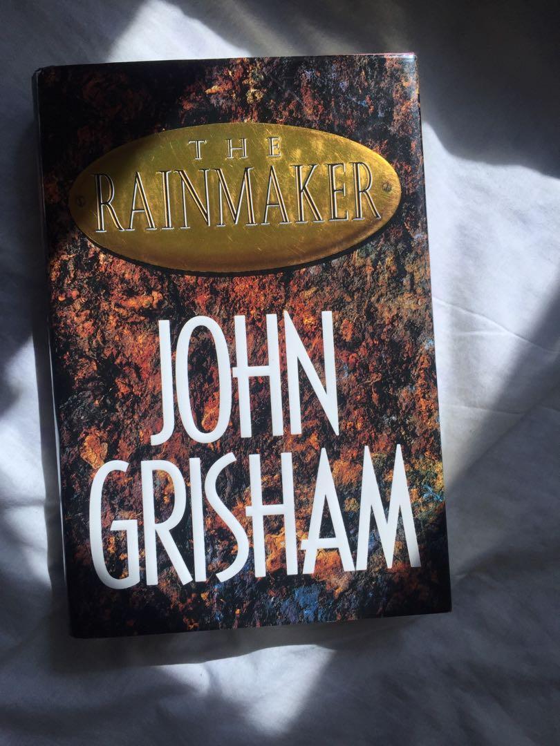 (HARDCOVER) THE RAINMAKER BY JOHN GRISHAM