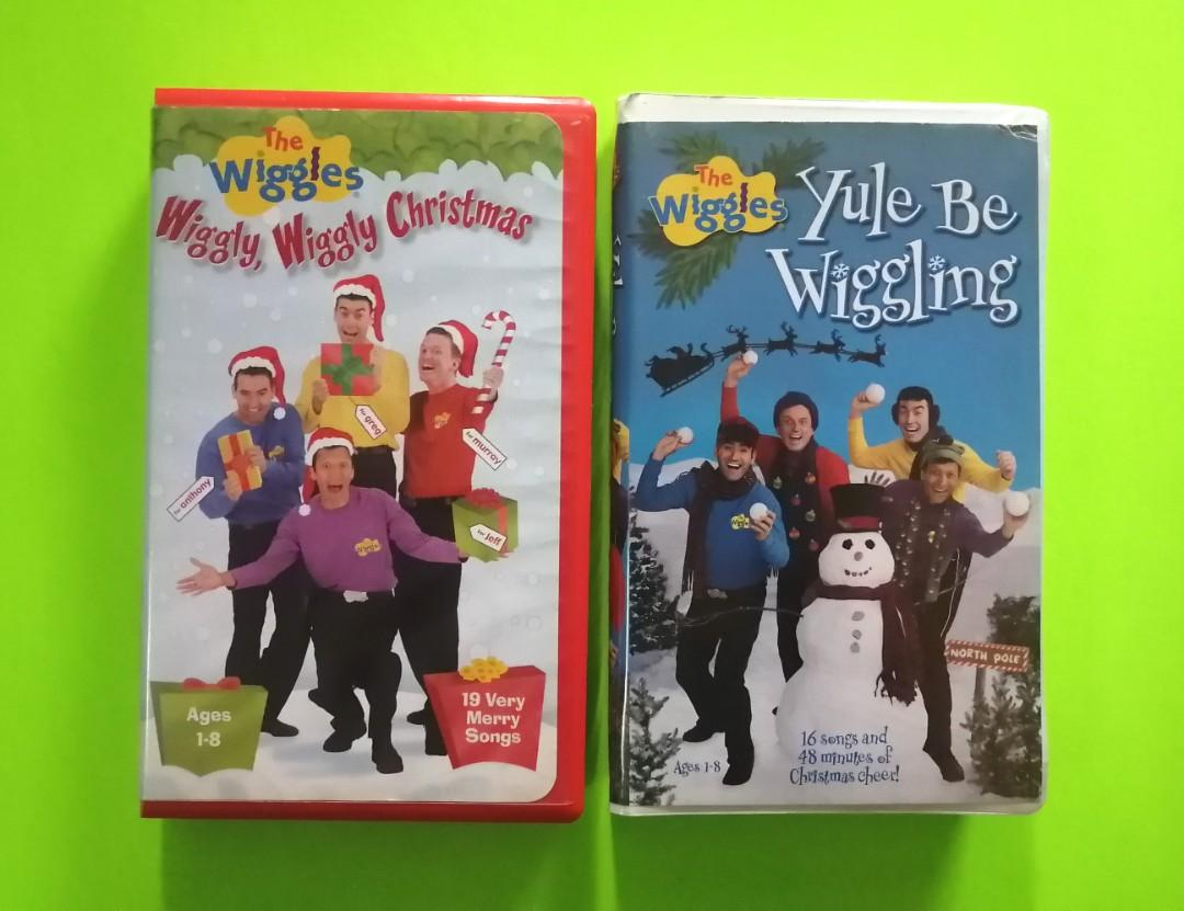 The Wiggles VHS Christmas Specials