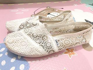 TOMS SHOES , sepatu toms , toms lace shoes