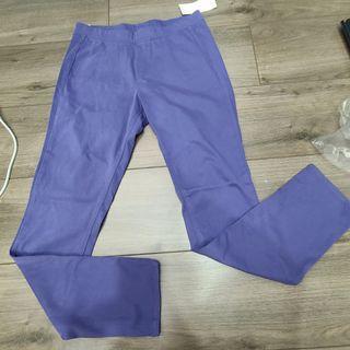 UNIQLO 紫色長褲 全新