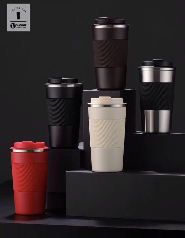 ❤️熱銷款👍英國Vanow保溫杯,陶瓷+316內膽/500ml隨行杯