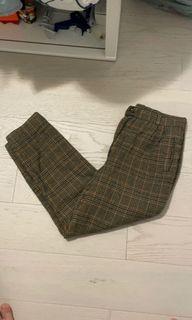 Vintage Plaid Pants
