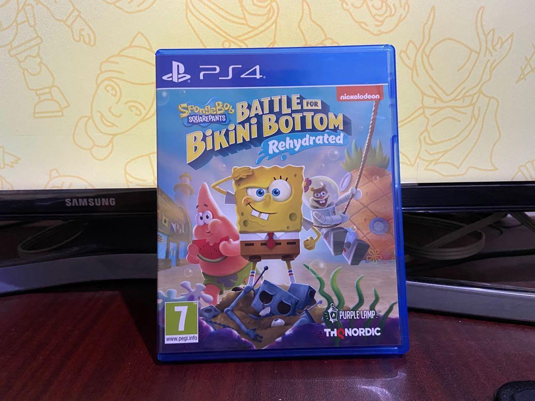 WTS Spongebob Squarepants: Battle for Bikini Bottom Rehydrated