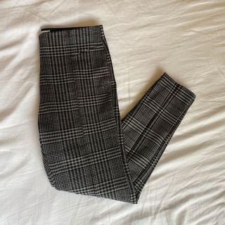 ZARA (kids) plaid leggings / pants