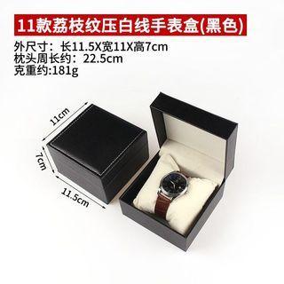 精緻手錶盒(黑色)只剩一個《特價300元》