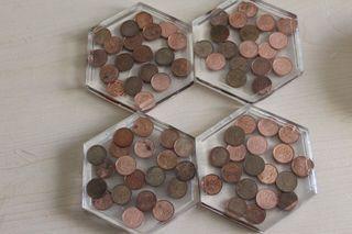 4 Penny Coasters