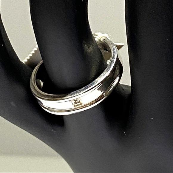 925 Sterling Silver Promise Wedding Gift Size 7