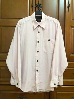男生長袖襯衫