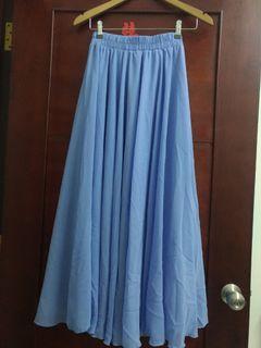 長裙 三層紗