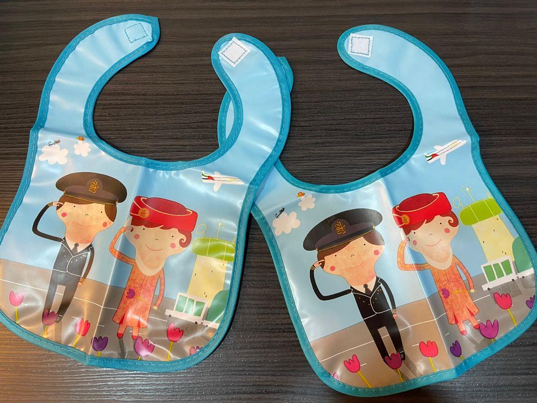 阿聯酋航空 圍兜兜口水巾