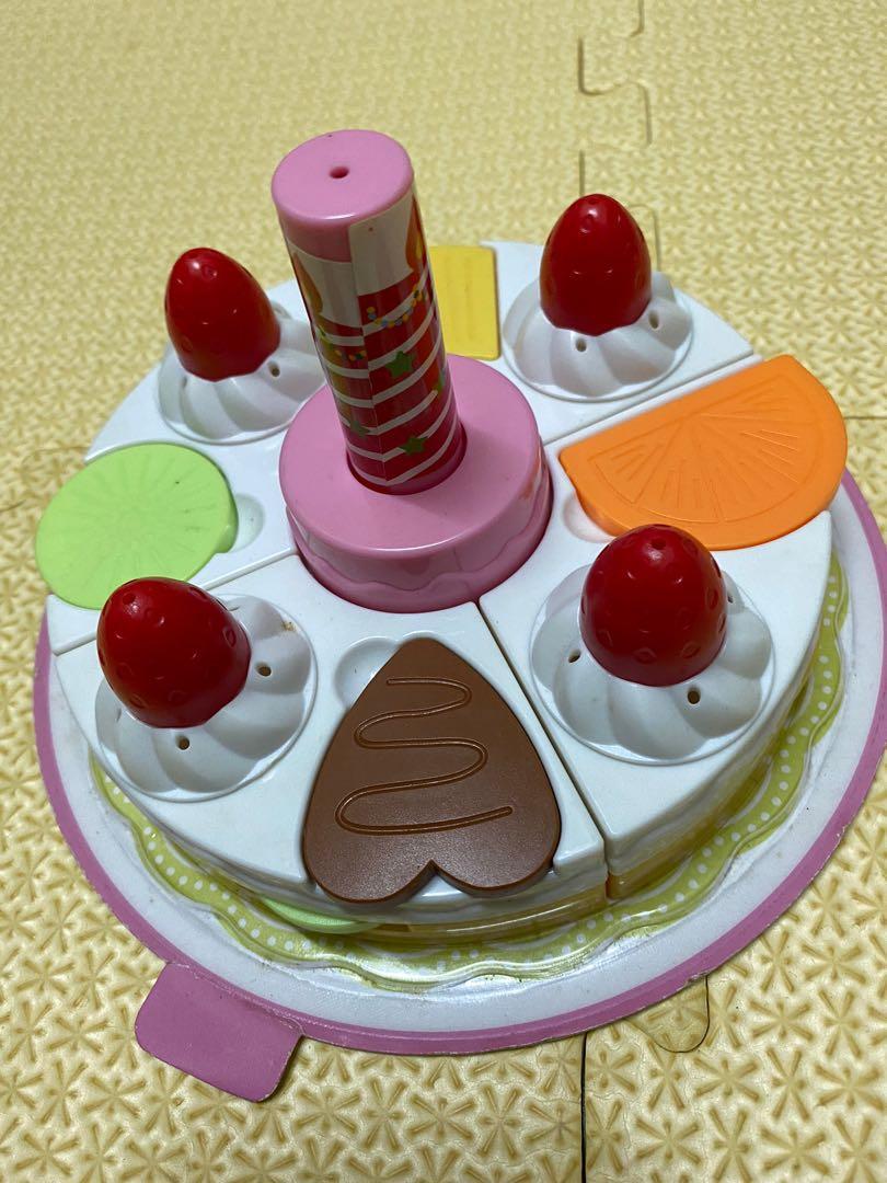 巧虎 巧連智 耶誕對對碰 積木蛋糕 玩具 教具