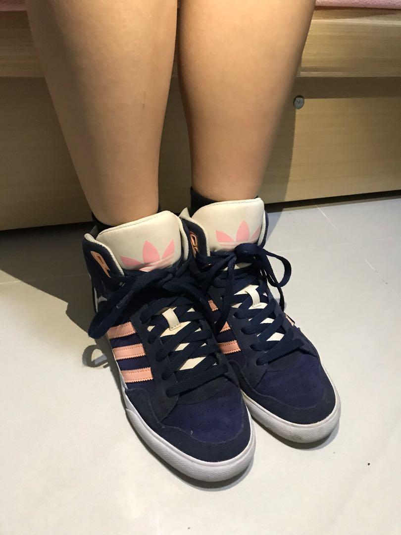 Adidas originals高筒鞋范冰冰同款23.5號