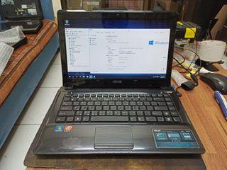 ASUS laptop A42J i5 brand new ssd