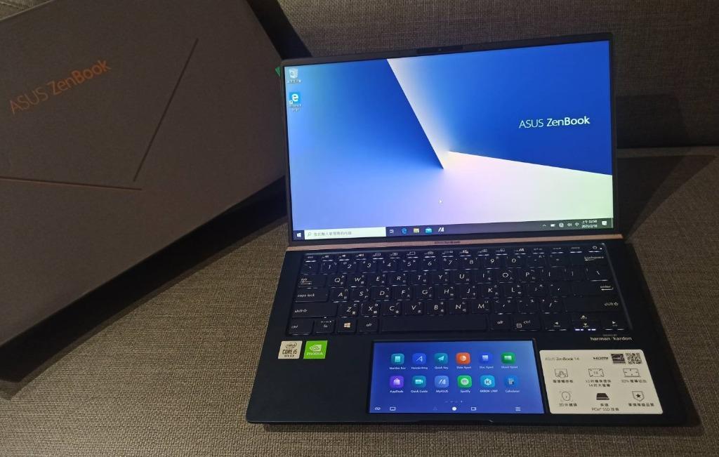 【出售】ASUS ZenBook UX434FQ I5-10210U/512GB/MX350 極緻輕薄 筆記型電腦