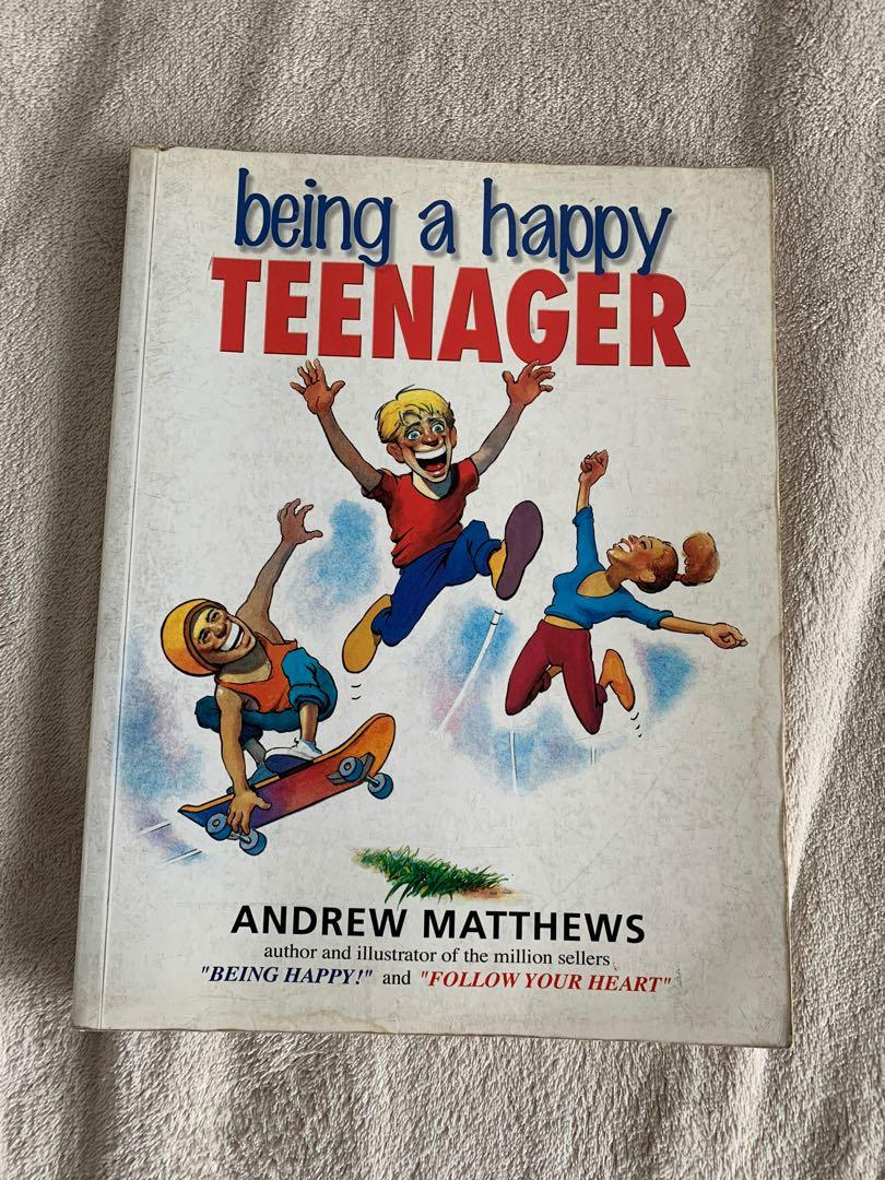 Being a Happy Teenager Book