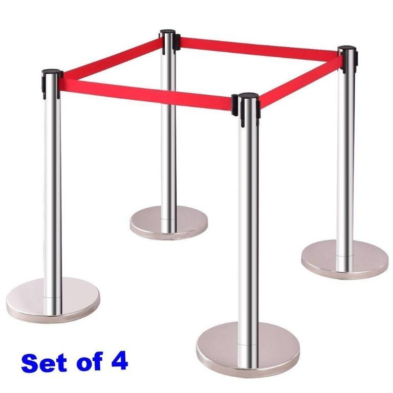Belt Post Retractable stanchion post barrier post Stand Post