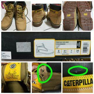 Caterpilar boots